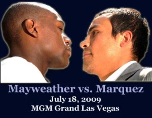 Mayweather vs Marquez fight