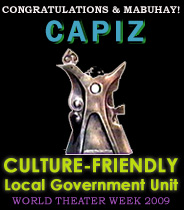 Capiz is Culture-Friendly LGU Awardees
